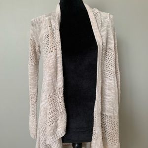 Mossimo Tan Knit Cardigan